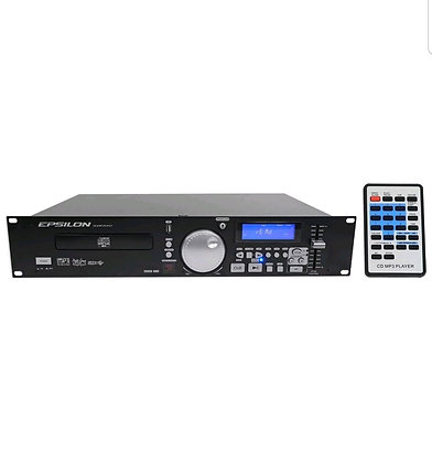 CDUSB-1000 2U Rack Mount Single DJ CD, MP3, and USB Player with Scratch Effects