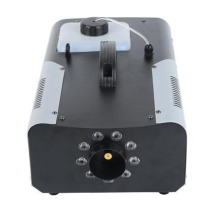 Smoke Fog Machine 9 LED Lights Remote Control DJ Party Stage Fogger