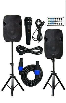 DJ PA System With Bluetooth Playback