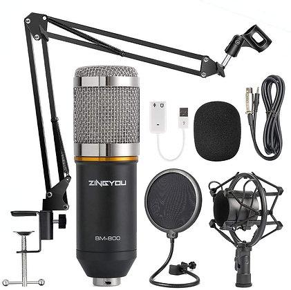 Condenser Microphone Bundle, BM-800 Mic Kit