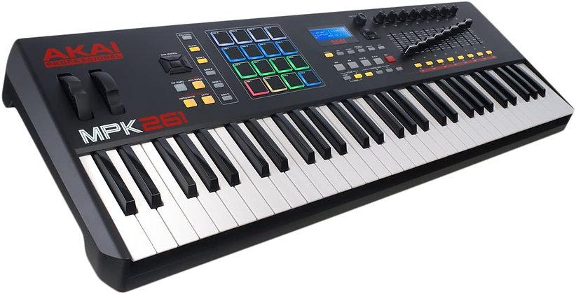 Professional MPK261   61-Key Semi-Weighted USB MIDI Keyboard Controller