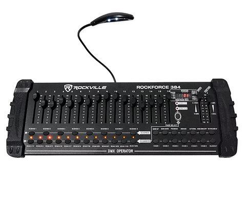 384 Channel Light/Fog DMX Lighting Controller with MIDI Control