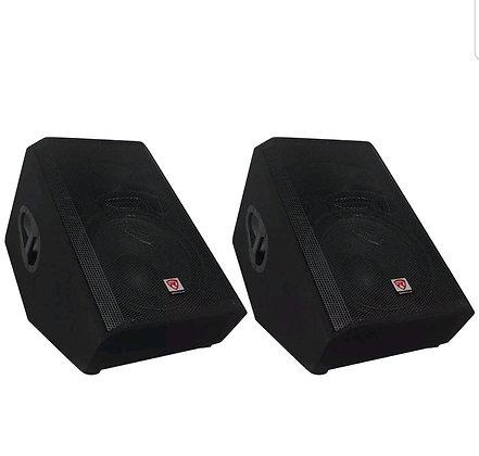 """(2) 12"""" 2-Way Powered Active Speakers"""