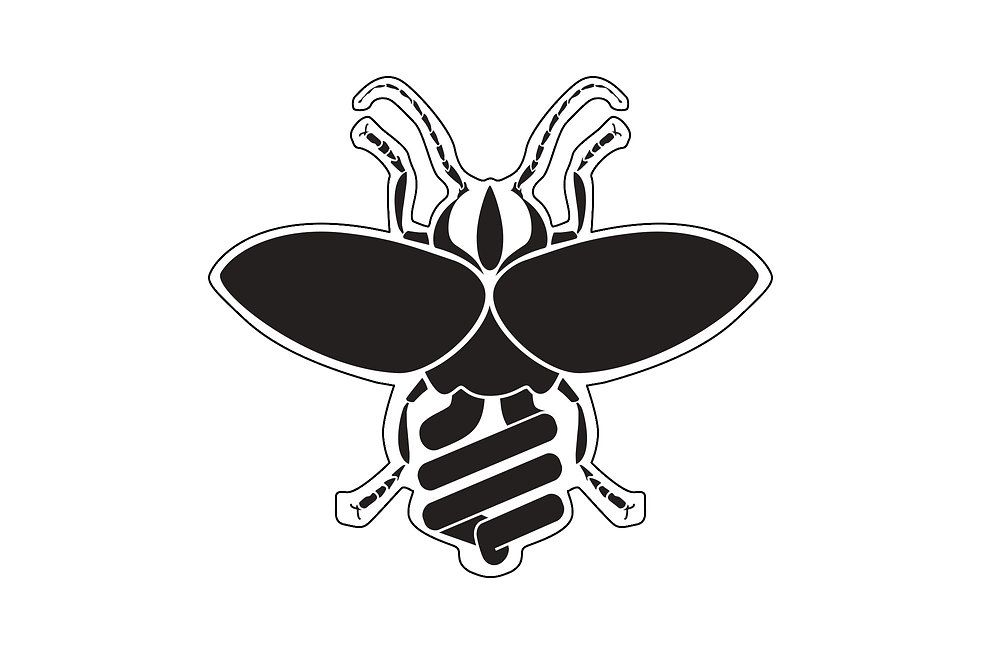 Lightening Bug Sticker vector illustration art.