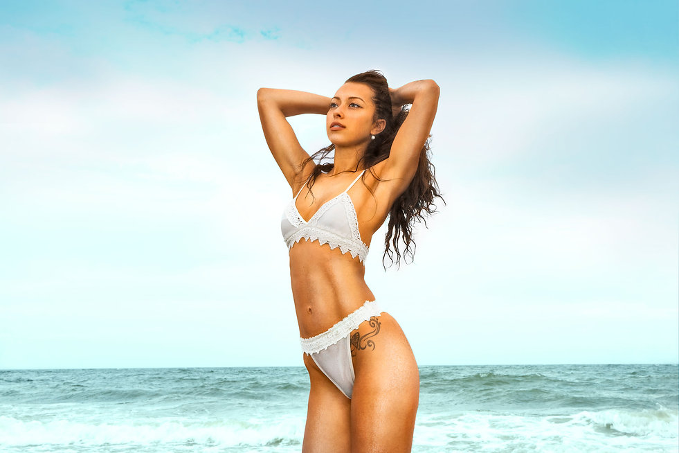 Summer 16' beach and bikin editorial fashion photo shoot.