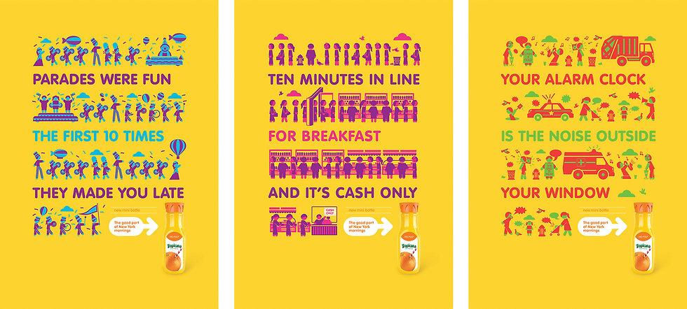 NYOJ Advertising Print Campaign