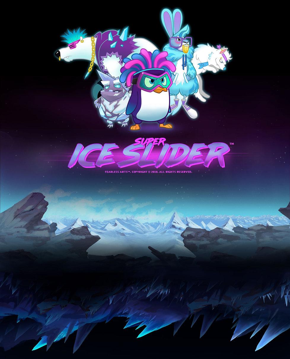 Super Ice Slider mobile video game.