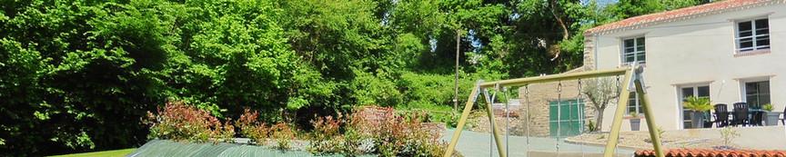 La Rocardiere jardin