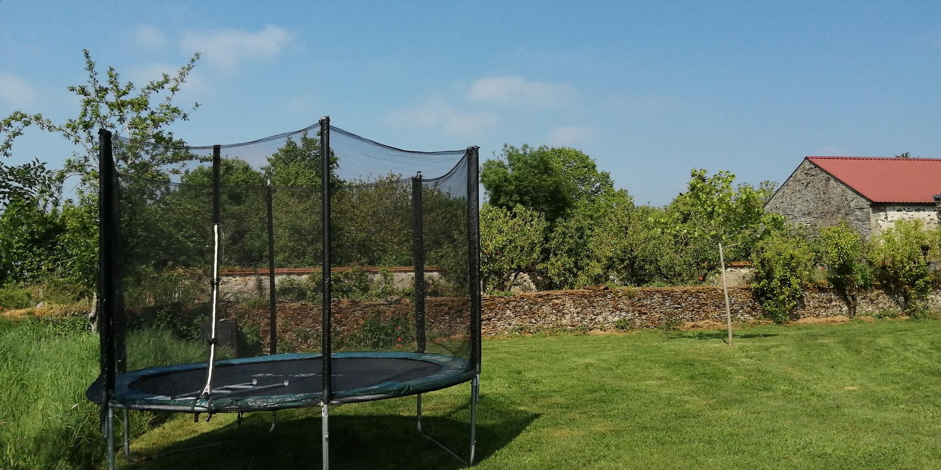 Le Figonier trampoling