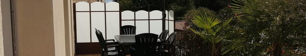 La Rocardière terrasse