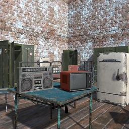 Old Furniture 3d asset