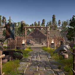 Village 3d Asset