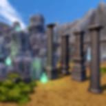 Stylized Ruins 3d asset