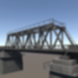 Railway Bridge 3d asset