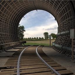 Subway Tunnel unity 3d asset