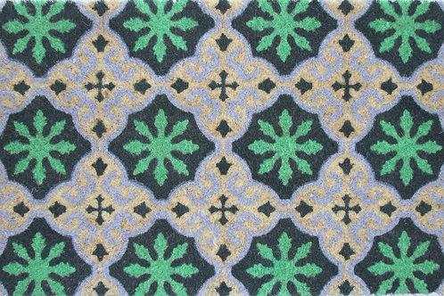 Türmatte Azulejo, Grün