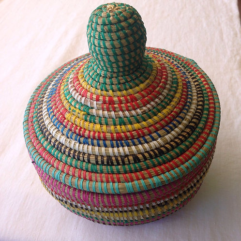 Handgeflochtener Korb aus Senegal