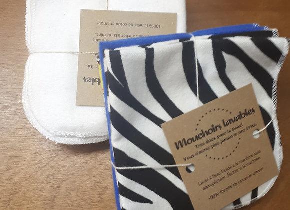 Mouchoirs de flanelle (6) - Mariefil