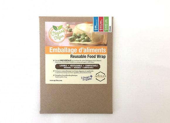 TRIO - Emballage alimentaire réutilisable