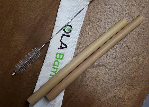 Ensembles paille bamboo