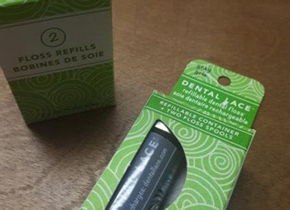 Soie dentaire compostable (Dental lace)