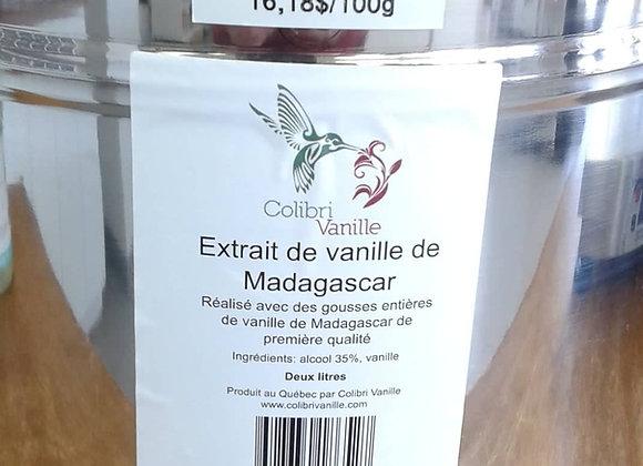 Extrait de vanille pure