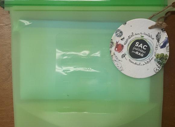 Sacs de silicone réutilisables (Sac fraîcheur)
