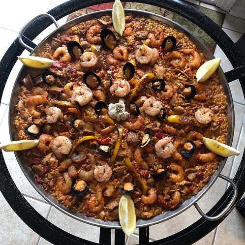 Mixta Paella