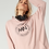 Thumbnail: NO. 3 OVERSIZE SWEATSHIRT WITH HOODIE