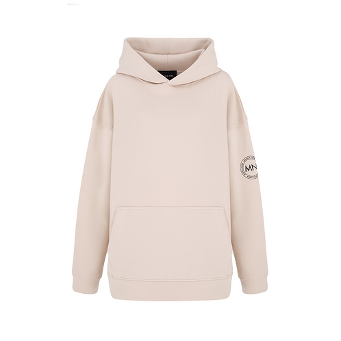 NO. 4 OVERSIZE PLUSH SWEATSHIRT WITH HOODIE