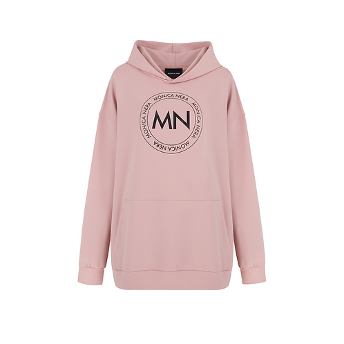 NO. 3 OVERSIZE SWEATSHIRT WITH HOODIE
