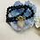Thumbnail: Collier encristal noir avec pendentif coeur