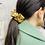 Thumbnail: Chouchou Tissu Jerseyeffet métal Doré.