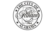 The City of Pelham Alabama logo