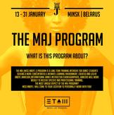 MAJ Belarus promo flyer
