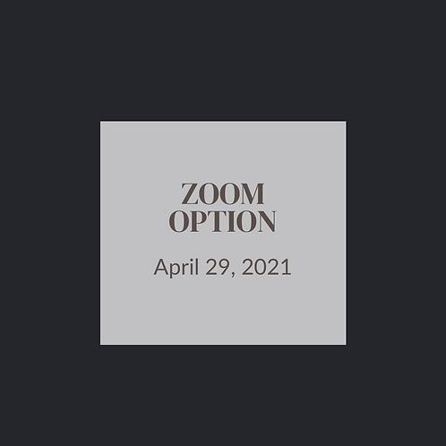 Zoom Option - April 29