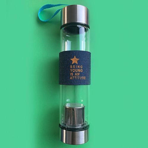 Termo de Vidrio con Difusor  450 ml.