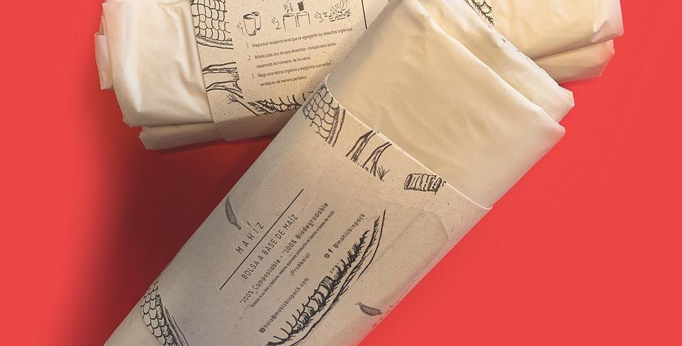 Bolsas Biodegradables Grandes MAHÍZ