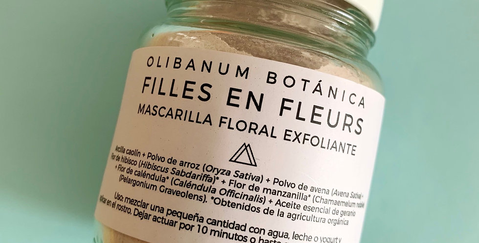 Mascarilla Floral