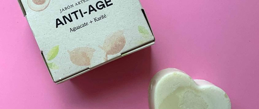 Jabón Facial Hiperhidratante / Anti Age Natiú 95 gr.
