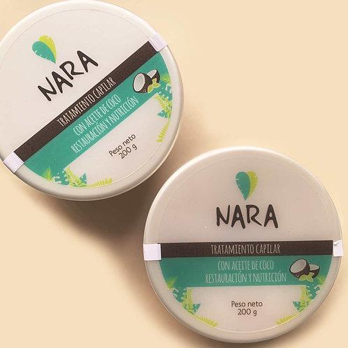 Tratamiento Capilar con Aceite de Coco Nara