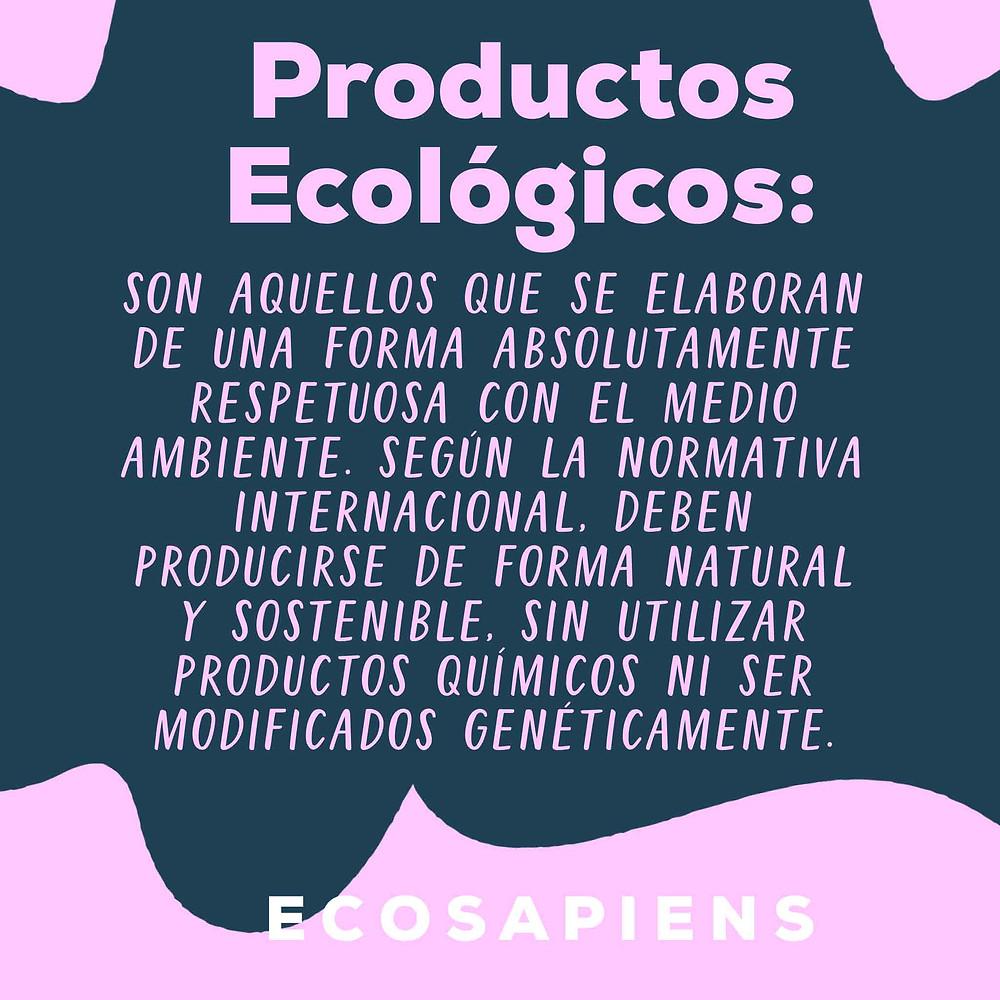 Que son los productos ecologicos