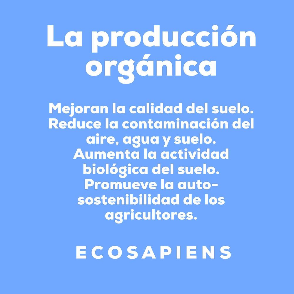 Beneficios de la producción orgánica