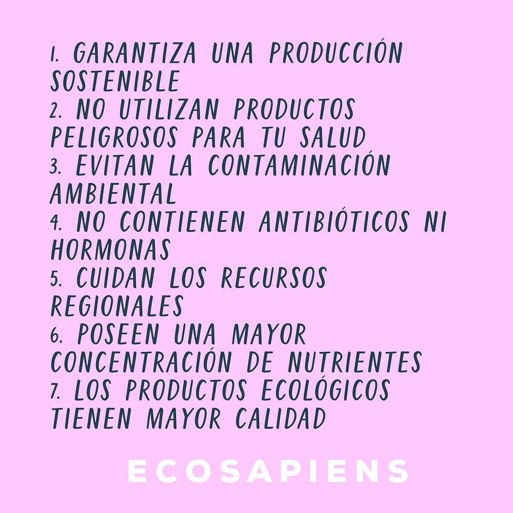 como los productos ecologicos contribuyen al medio ambiente y la salud