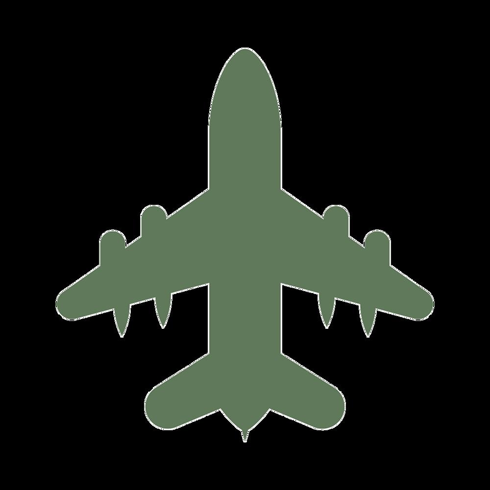 viaja ligero, avion