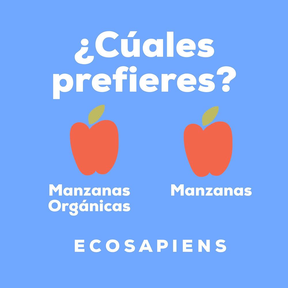 prefiere siempre alimentos organicos