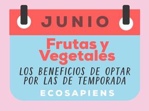 Frutas y vegetales: los beneficios de optar por las de temporada