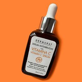 Sérum Antiarrugas Vitamina C Dermanat 30 ml.