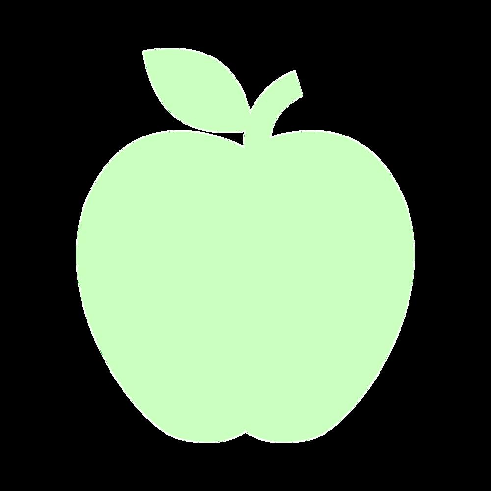 alimentación a base de plantas, manzana
