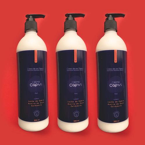 Crema Corporal Capri  500 ml.